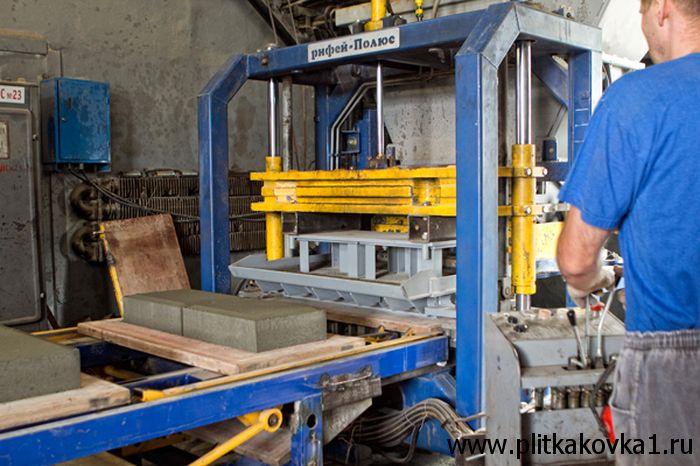 Технология производство тротуарной плитки своими руками