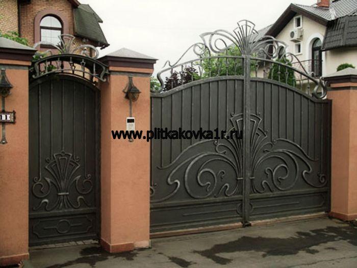 Производство въездных ворот фото красноярск ворота автоматические