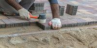 Основание под тротуарную плитку: технология работы