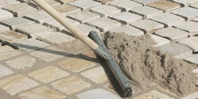 Затирка швов тротуарной плитки и брусчатки