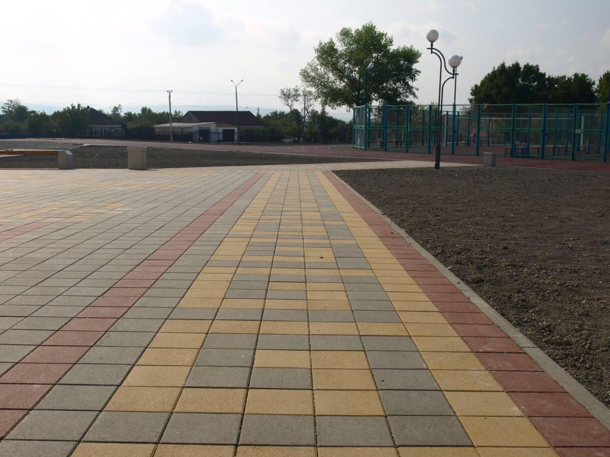 тротуарная плитка 50 мм