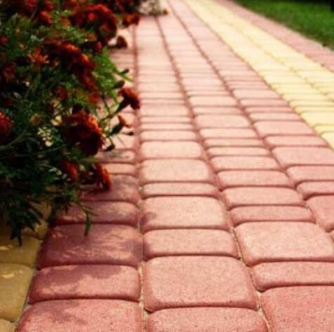 Дорожка на даче своими руками из тротуарной плитки