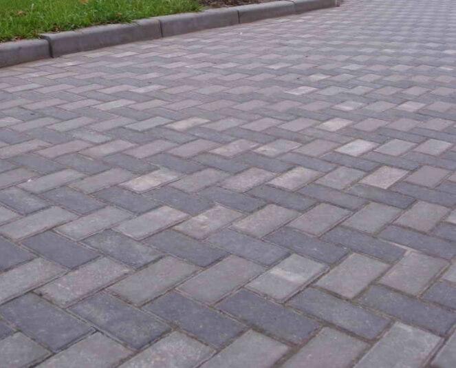 тротуарная плитка 80 мм
